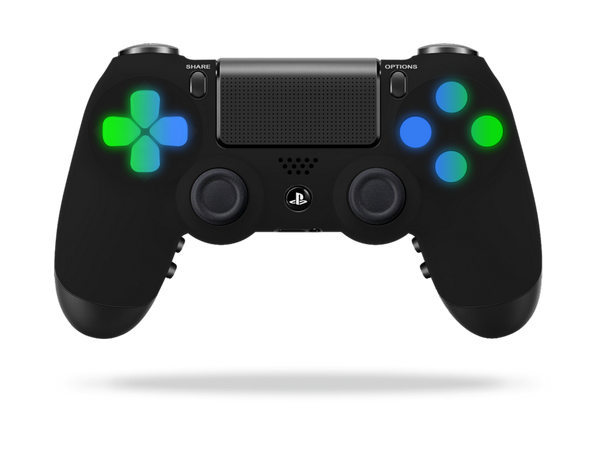 Ps4 Midnight Led Light Controller Ps4 Alerts Ideias Para Personagens Controle Play 4 Play