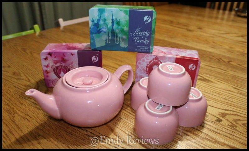 Adagio Teas ~ Kids Tea Party Set   Emily Reviews