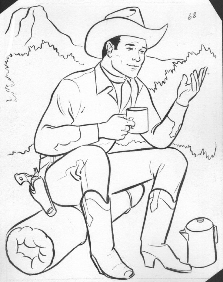 Western Coloring Pages For Kids #5741 | Pics to Color ...