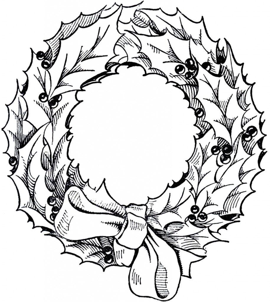 20 Christmas Wreath Frame Images Christmas Wreath Illustration Christmas Wreath Clipart Wreath Illustration