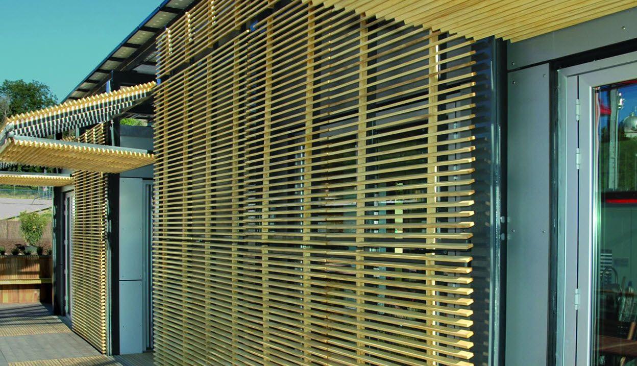brise soleil orientable solar decathlon accsys. Black Bedroom Furniture Sets. Home Design Ideas