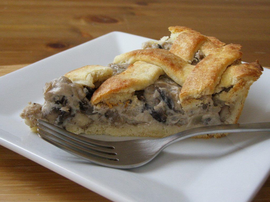 Mushroom Pie with Potato Pastry and Pearl Barley | WFPB ...