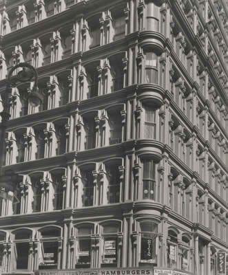 1959 Fulton At Nassau Street Todd Webb Ny City New York City City