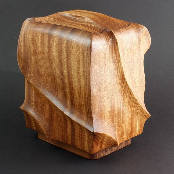 Cremation Urn Teak Cremation Urn Wood Cremation Urn Urn