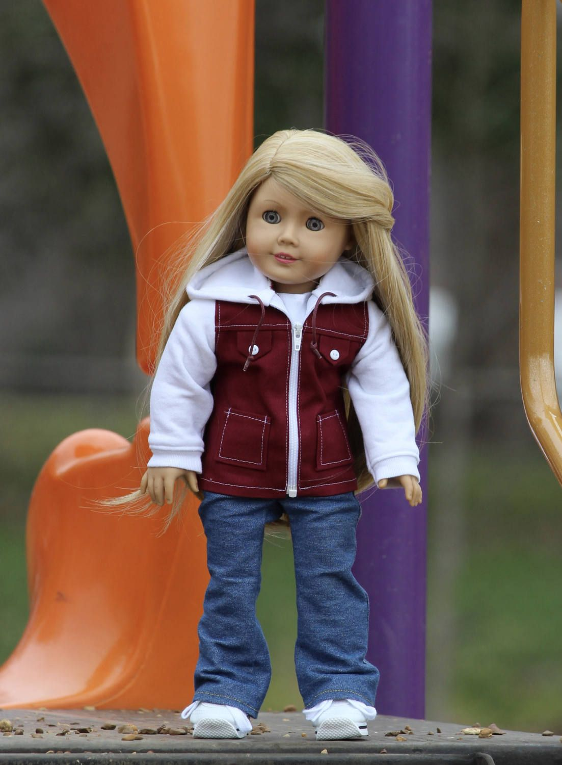 Black Leather Jacket for American Girl Dolls by HiggyBears on Etsy ...