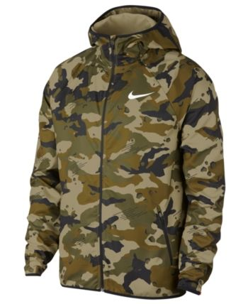 2f1b780764017 Nike Men's Woven Camo-Print Training Jacket - Green 2XL | Products ...