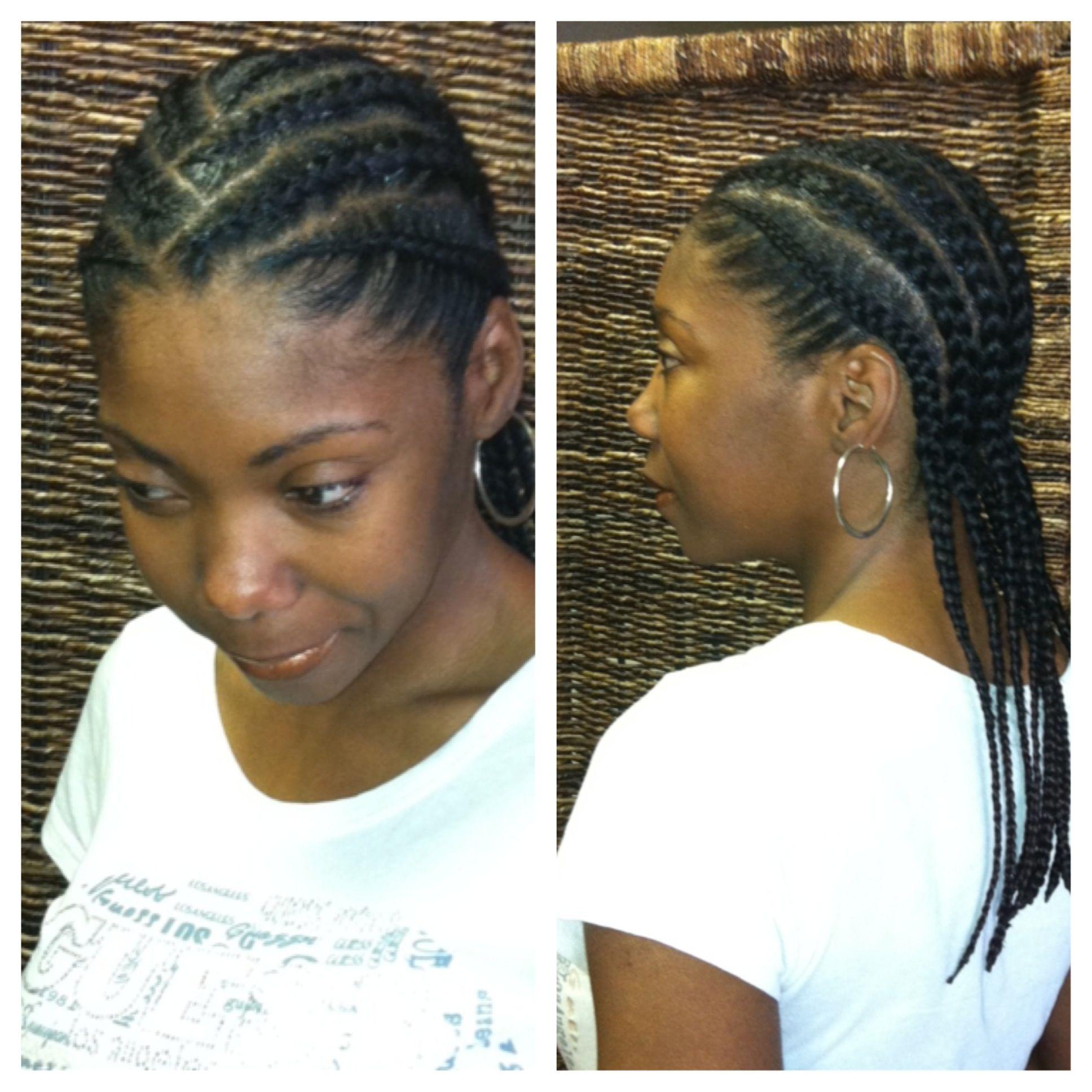 Simple Cornrows Easy Hairstyles Easy Hairstyles For Long Hair Cornrow Hairstyles