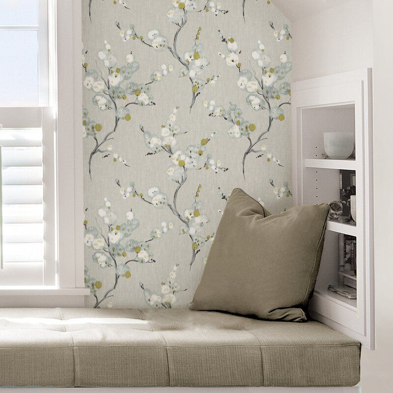 Lily Manor Mirei Peel And Stick 5 5m X 52cm Wallpaper Roll Wayfair Co Uk In 2020 Nuwallpaper Peel And Stick Wallpaper Wallpaper Roll