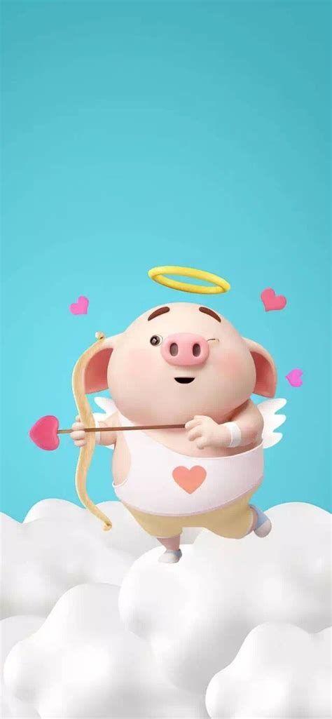 猪猪图LITTLE PIGGY | Cute Piglets, Cute Pigs, Pig Wallpaper