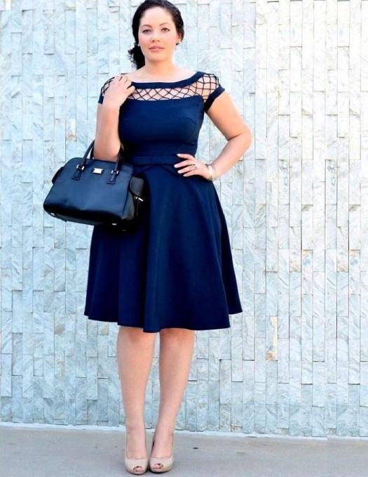 321c98854 vestidos-para-gorditas-en-azul-2016 Más