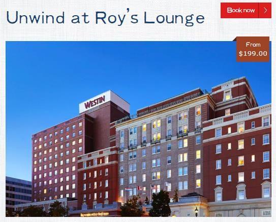 More info: http://www.destinationhalifax.com/plan-your-travel/packages/unwind-roys-lounge # ...