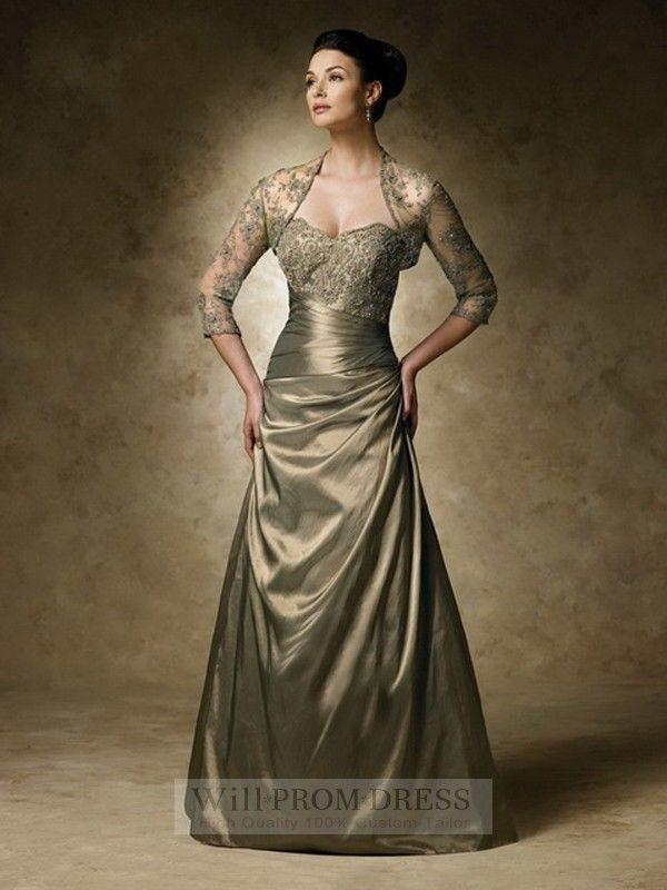 Brown Mother of the Bride Dresses Elegant