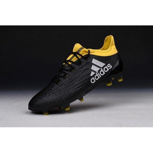 new arrival 41d62 57fed Best Adidas X 16.1 FG TPU Black Yellow Football Boots