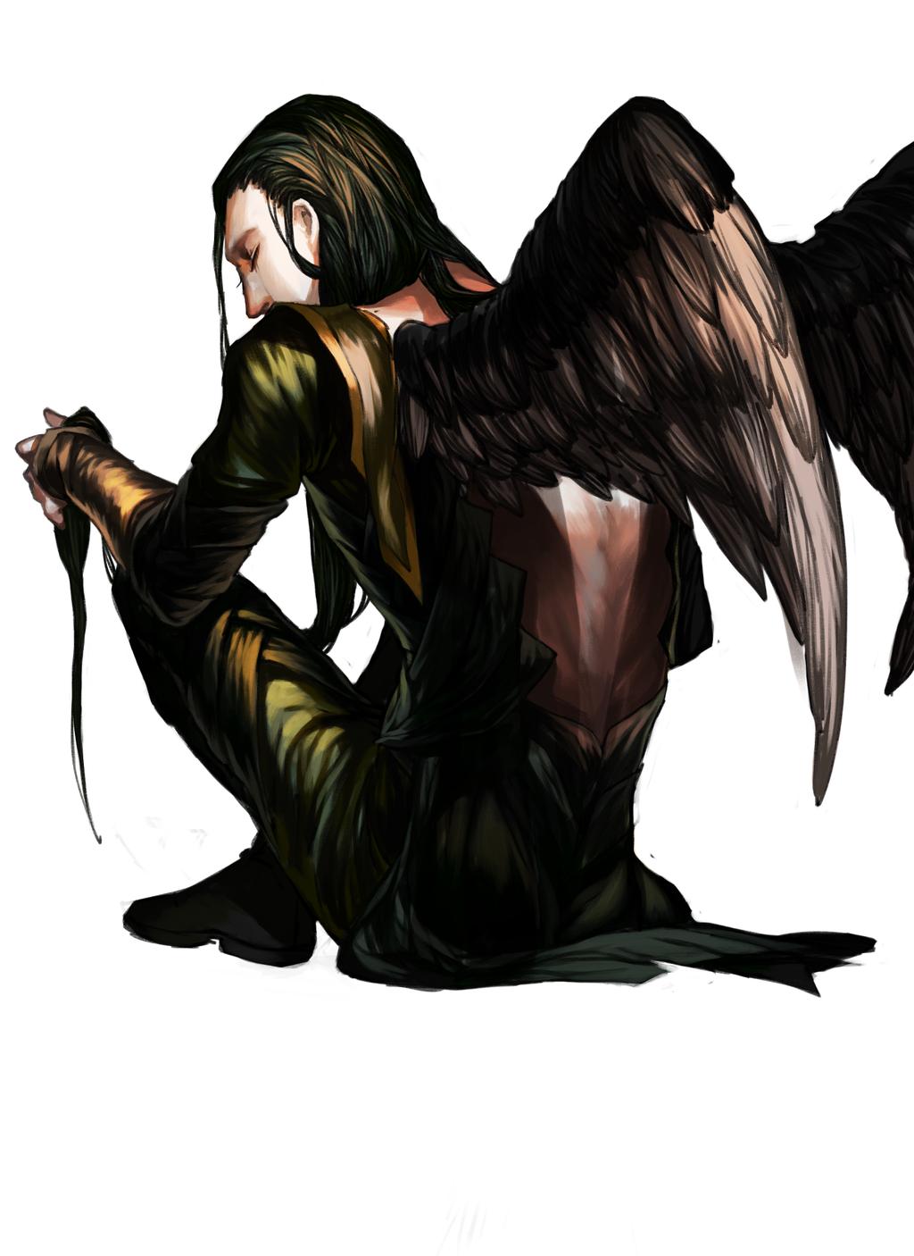 I am having a hard time deciding if I want to write Winged