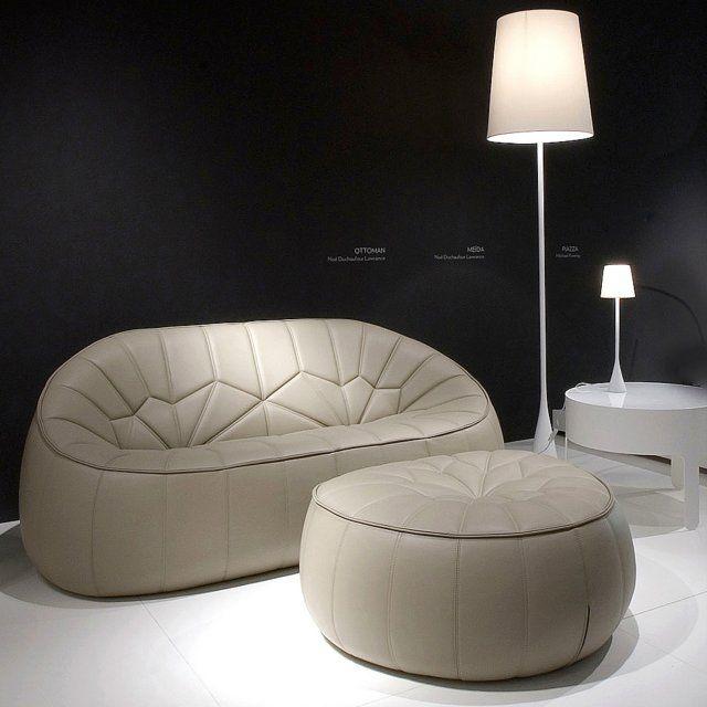 Cinna- modèle ottoman existe en vert | Envie d\'un nouveau canapé ...