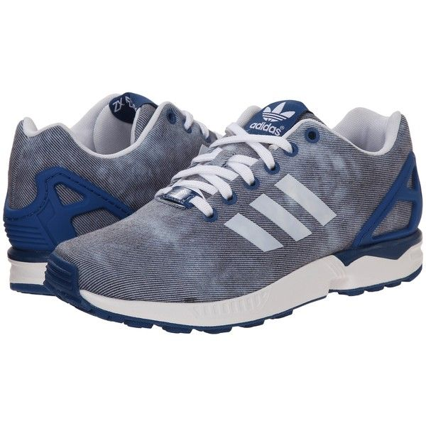 Womens Shoes adidas Originals ZX Flux W Dark Marine/White/Dark Marine