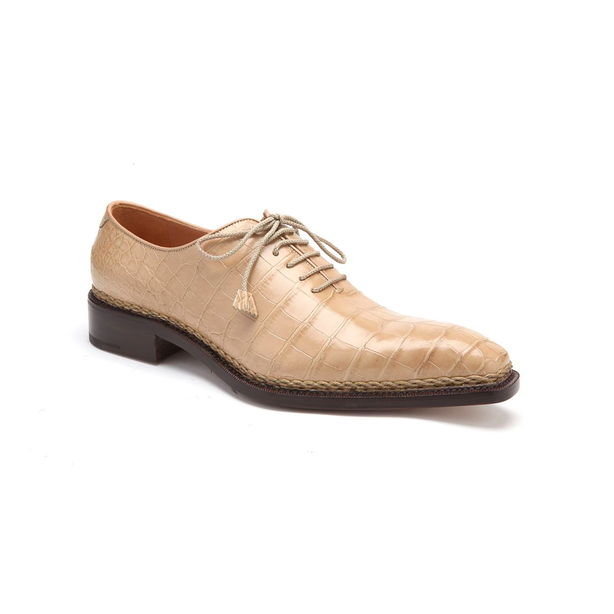 Caporicci Italian Mens Shoes Norwegian Construction Full Body Alligator Beige Oxfords Cap1103 Italian Shoes For Men Dress Shoes Men Men Shoes With Jeans