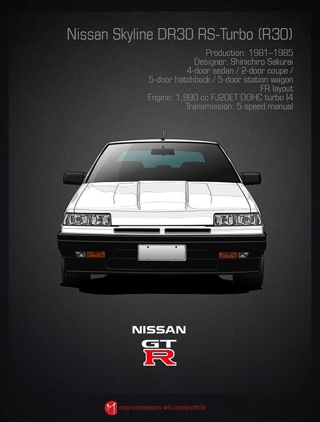 nissan skyline dr30 rs turbo r30 crs pinterest nissan rh pinterest com Nissan Skyline GTR 2014 2012 Nissan Skyline