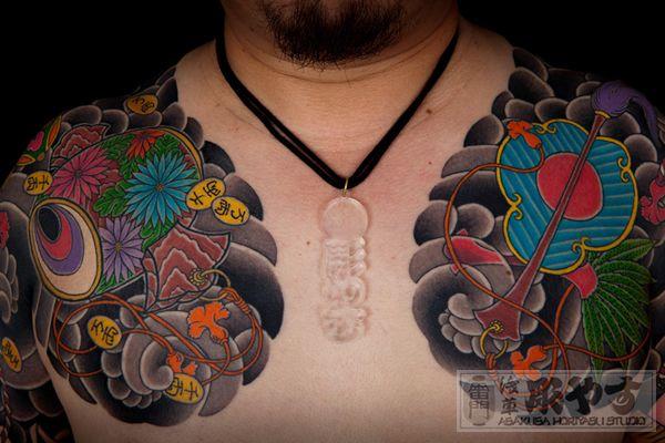 Necklace Irezumi Tattoo Irezumi Tattoos Tattoos Irezumi
