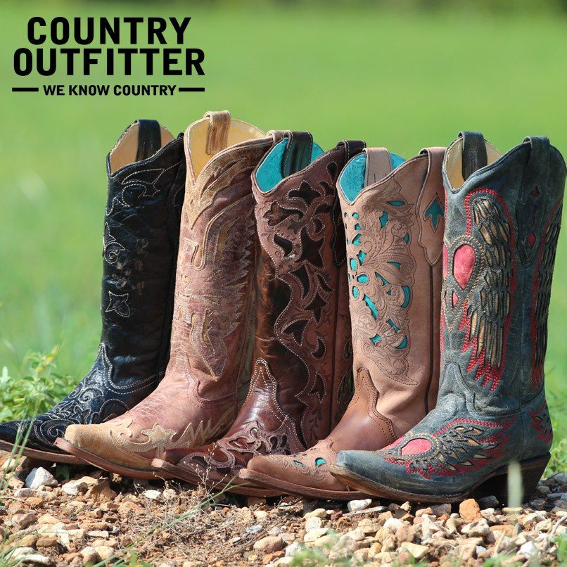 60f3fde173c Pin by Kara Harmon on Boots...Shoes...Flops...♥   Country outfitter ...