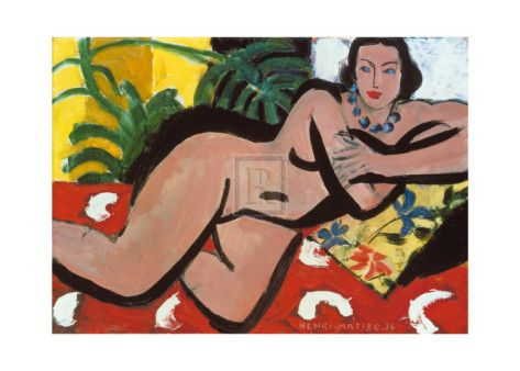 Nude with Palms, c.1936 by Henri Matisse