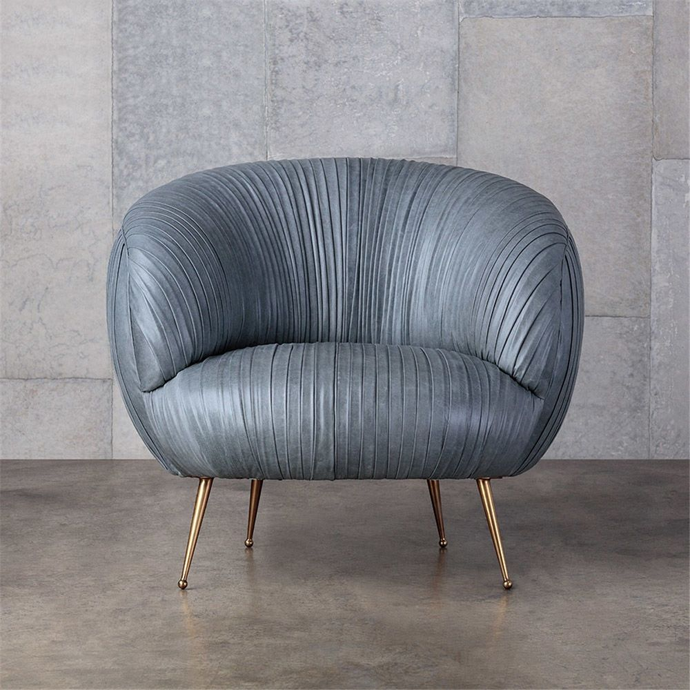 Park Art|My WordPress Blog_Faux Leather And Metal Chair
