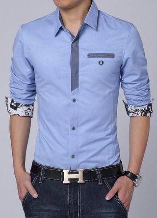 3d9bd65864325 Camisa Casual Elegante - Detalles Fashion - en 4 Colores