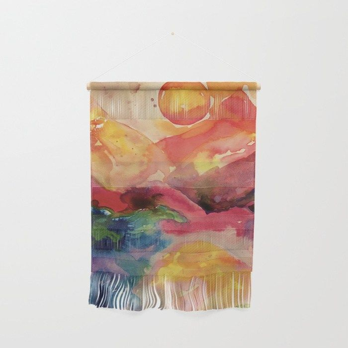 Buy abstract watercolor Wall Hanging by mariannatankelevich ...