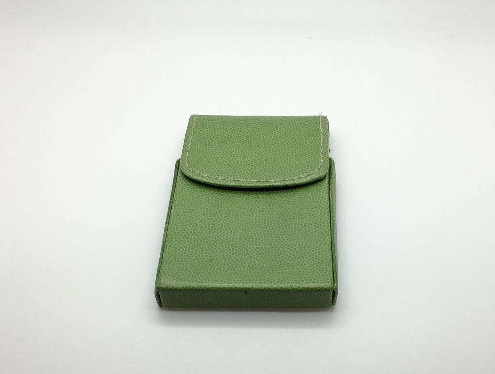 Pierre Belvedere Executive Business Card Holder Wasabi Green Vegan Flip Top Pierrebelvedere Business Card Holders Card Holder Girly
