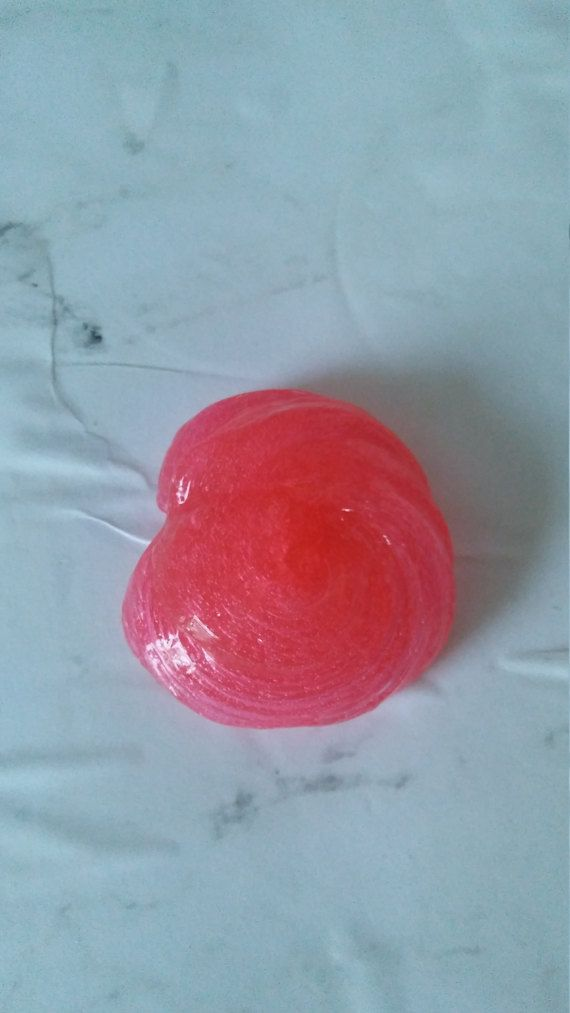 Sweet Strawberry Slime by SparklingWaterfallUS on Etsy