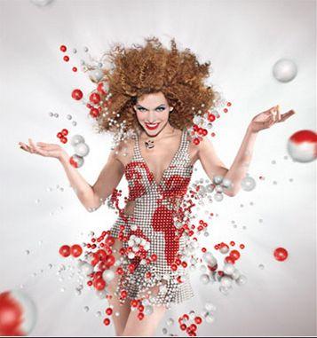 December , Campari calendar 2012  Photographer:Dimitri Daniloff  Model: Mila Jovovich