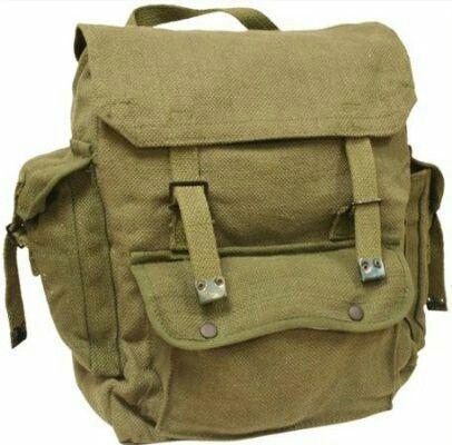 Army surplus haversack cool meets practical