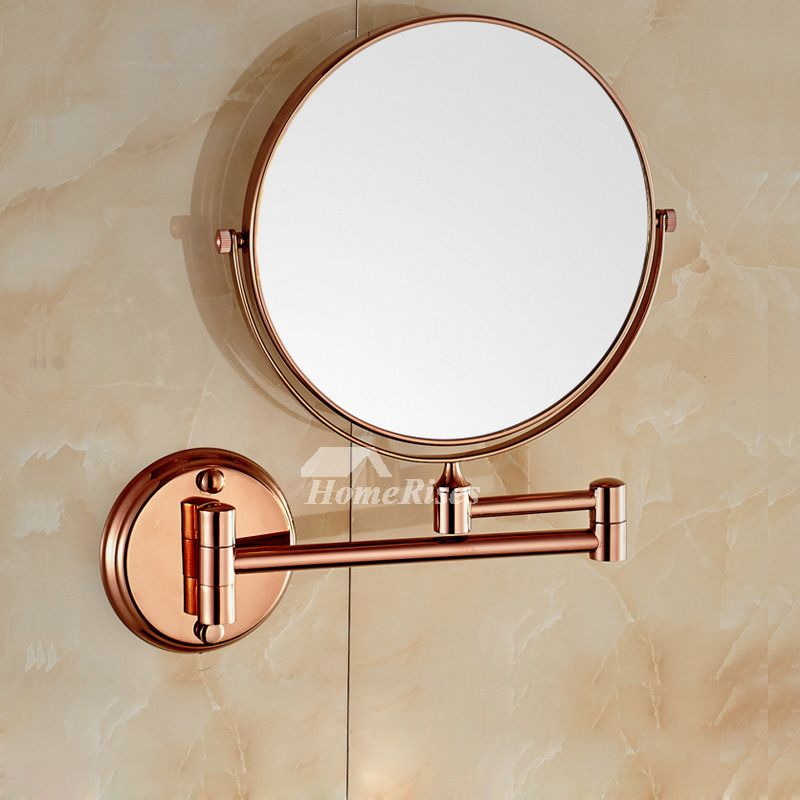 Copper Wall Mounted Swivel Mirror With Images Wall Mounted