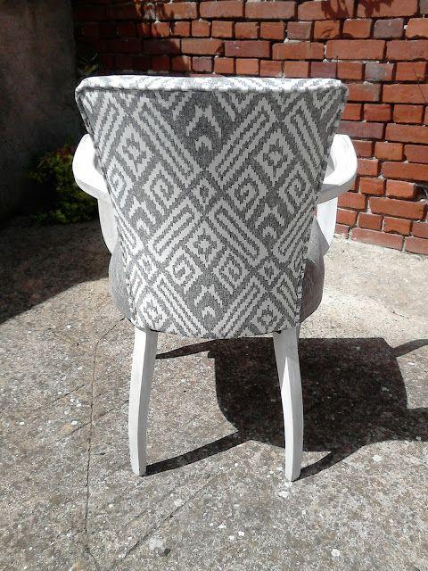 62690 idées et créas Restauration fauteuil bridge avant   après - peindre avant de tapisser