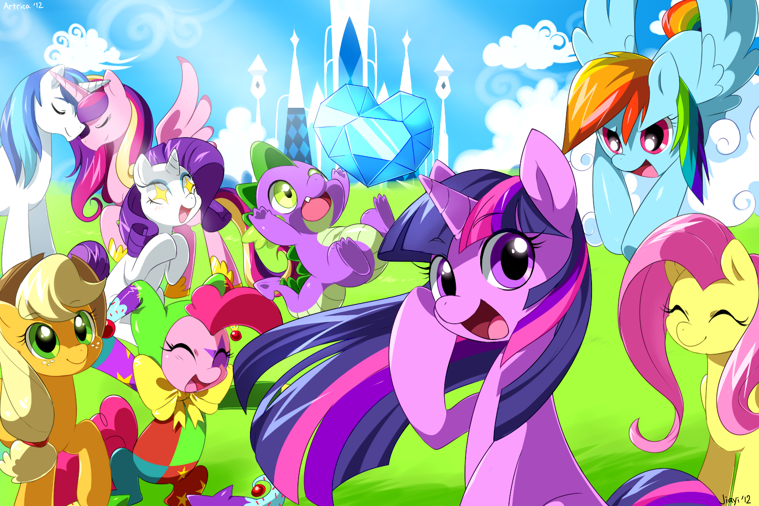 My Little Pony Crystal Kingdom Cadence And Shining Armor In