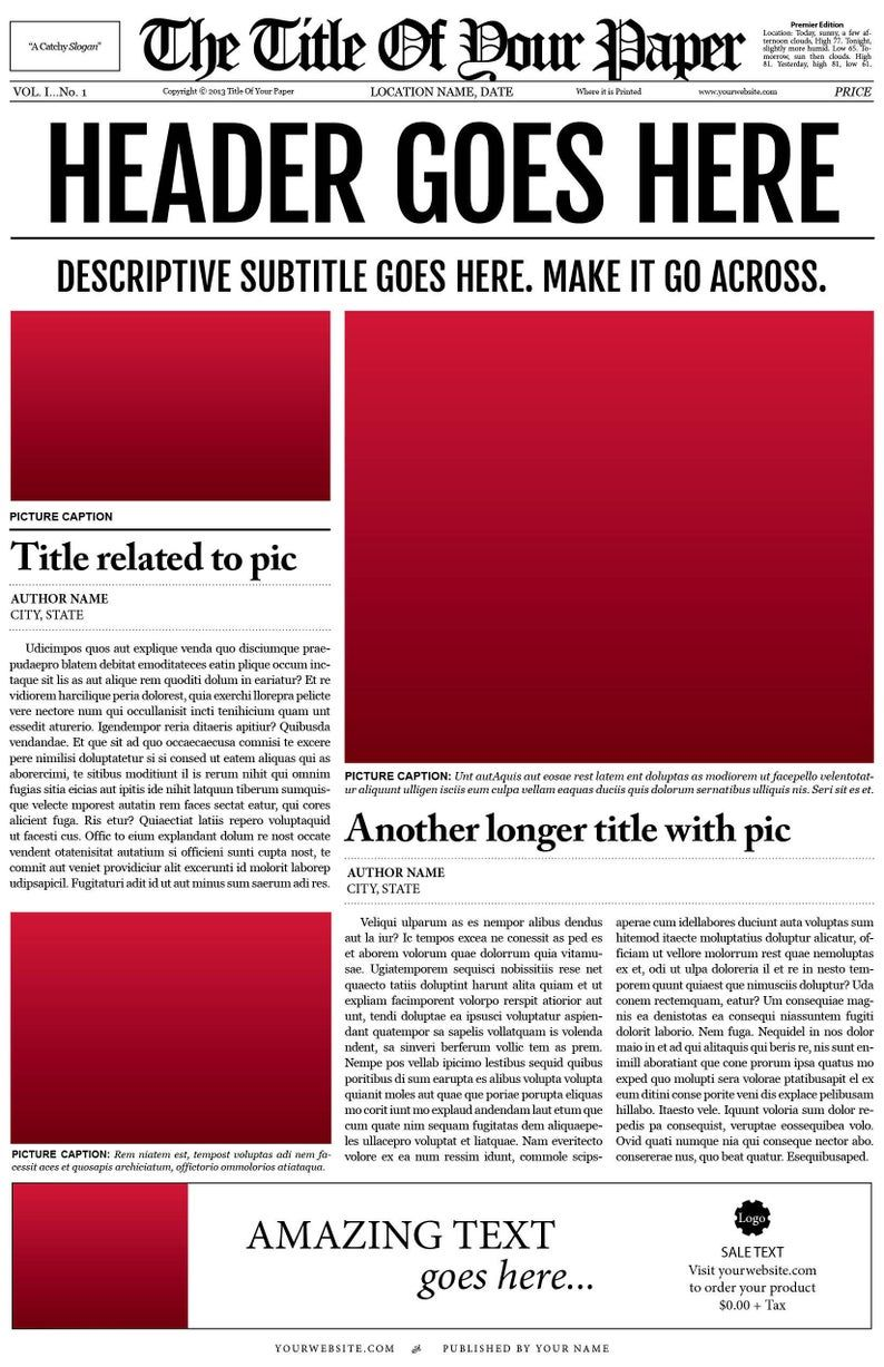 018 Free Newspaper Template For Word Ideas Microsoft Il For Blank Newspaper Template For Word B Newspaper Template Newspaper Template Design Newspaper Design