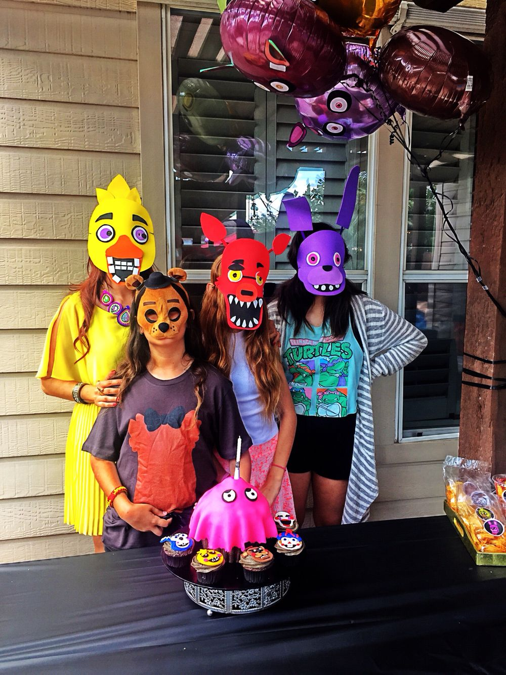 Ideas five nights at freddy party - Five Nights At Freddy S Party