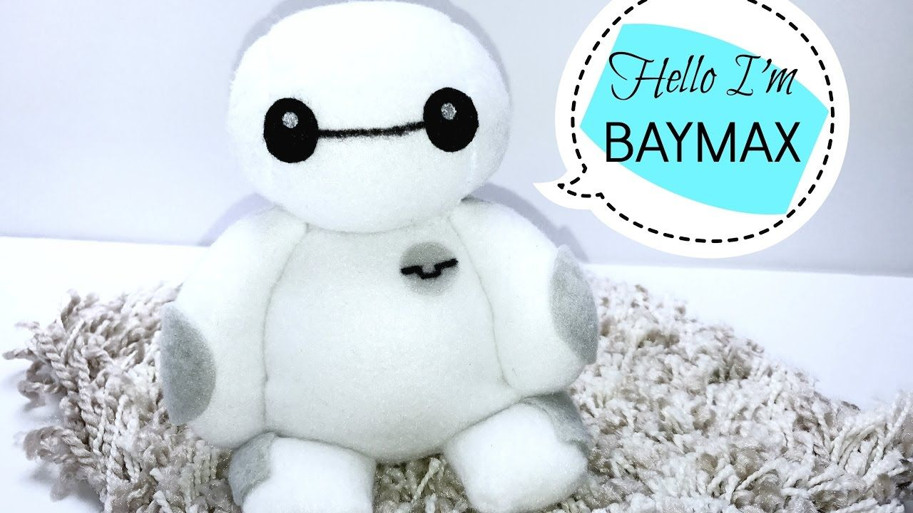 DIY| Baymax Plushie Tutorial | Crafts | Pinterest