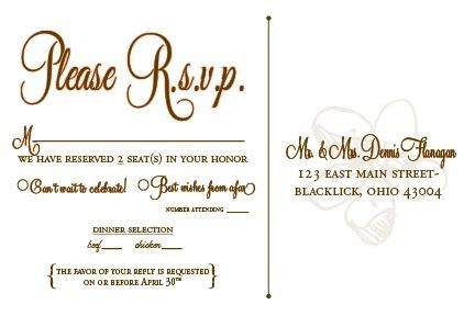Designs By N Wedding Rsvp Postcards Rsvp Wedding Cards Postcard Wedding Invitation Wedding Rsvp Wording