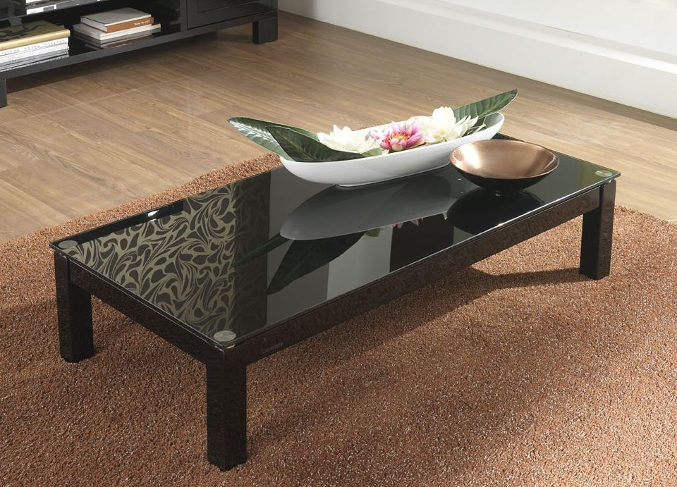Rectangular Black Lacquer Coffee Table Coffee Table White Gloss Coffee Table Contemporary Coffee Table