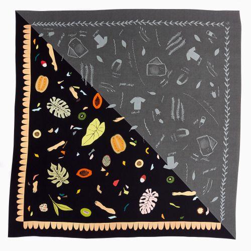 Summer feels scarf collab by Fiona Simmons andRose Megirian. So...