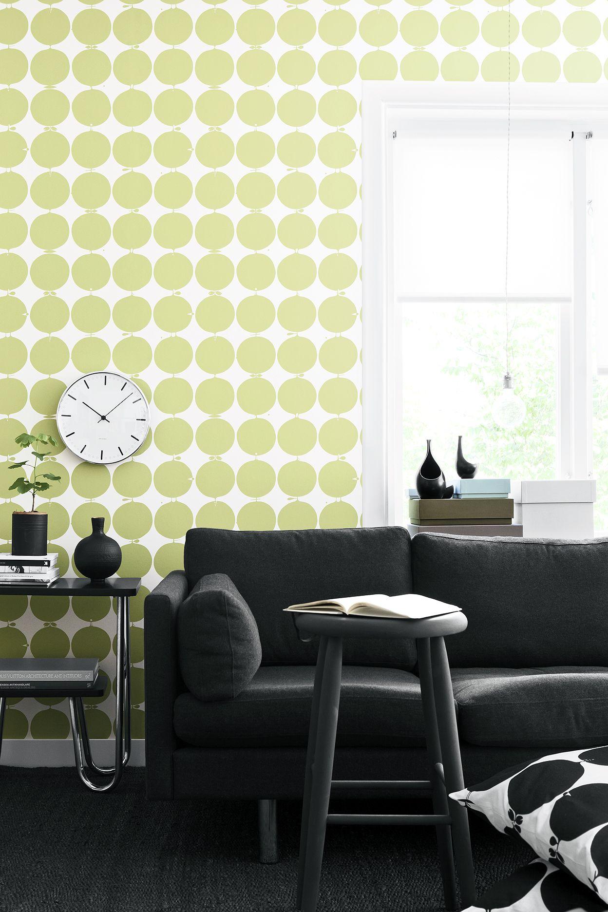 Boråstapeter Scandinavian Designers -mallisto, tapetti 2752, viisi värivaihtoehtoa. Värisilmä, http://kauppa.varisilma.fi/seinanpaallysteet/nonwoven-tapetit/scand_designers/ #tapetti #olohuone