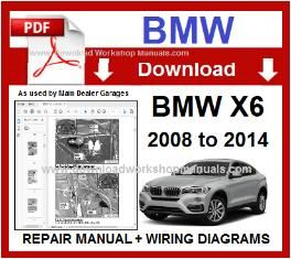 bmw x6 e71 pdf service repair workshop manual & wiring bmw electrical diagrams bmw x6 wiring diagram #3