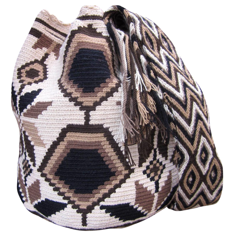 Large Mochila Wayuu Bag  | Handmade and Fair Trade  Wayuu Mochila Bags  LOMBIA & CO. | www.LombiaAndCo.com