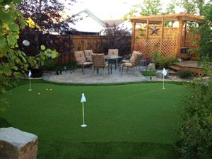 Backyard Putting Green Artificial Turf   Google Search