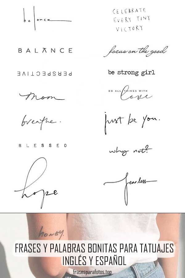 Photo of IDEAS, PALABRAS Y SENTENCIAS PARA TATUAJES – Journaling ♡ – # para #Ideas #Journali … – Amy