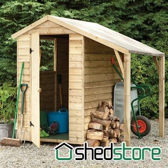 6x4 Shed-Plus PT Lean-To Shed (LOG CANOPY?) : storage canopy sheds - memphite.com
