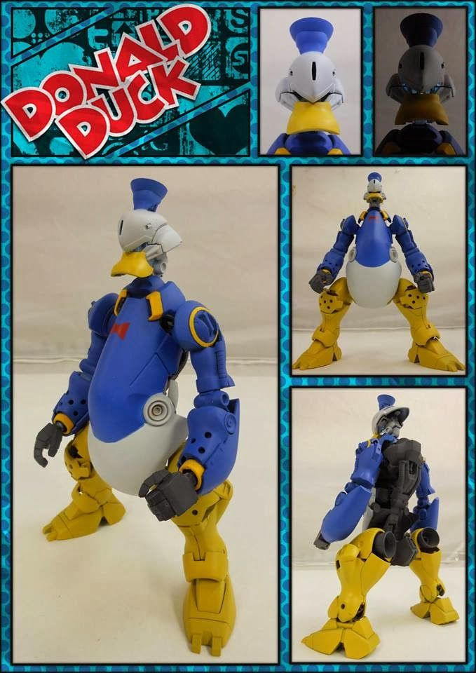 GUNDAM GUY: Gundam Funnies: Mobile Suit Donald Duck - Custom Build