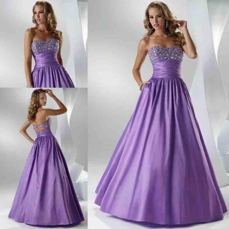Purple And Silver Wedding Dresses | purple wedding gowns | Pinterest