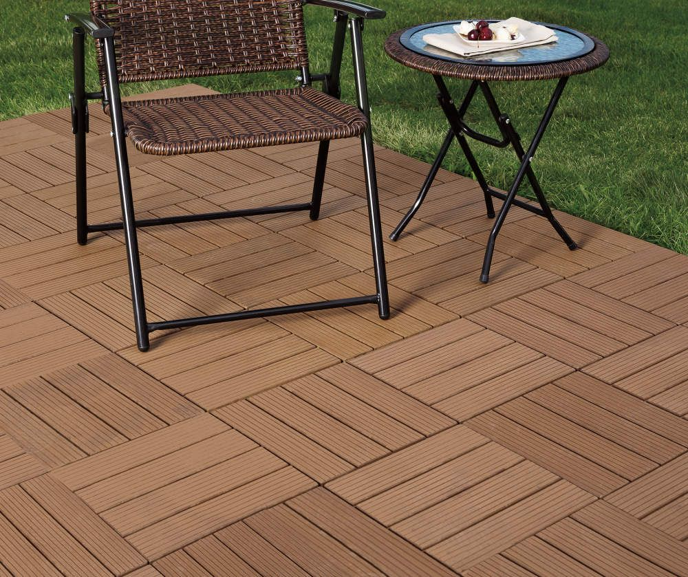 Interlocking Polywood Deck Patio Tiles 10 Pack Big Lots Patio Tiles Interlocking Patio Tiles Deck Tiles Patio